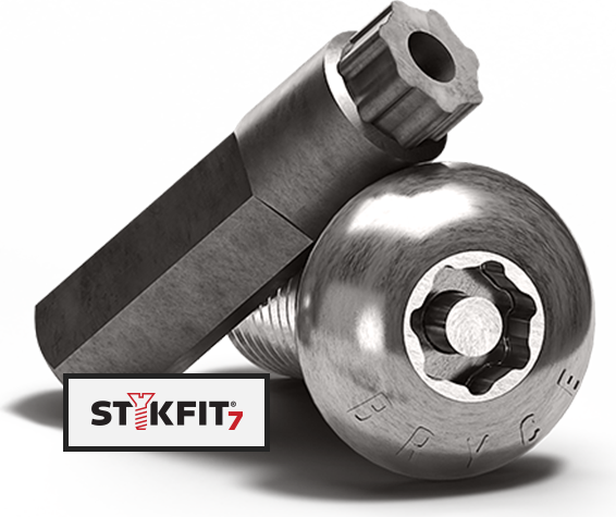 stykfit7 tamper-proof screw