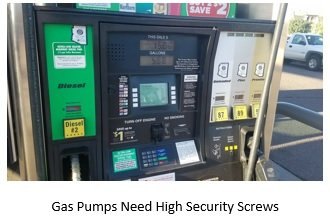 Acme Thread Security Screws Help Save a Million Dollars in Stolen Gas