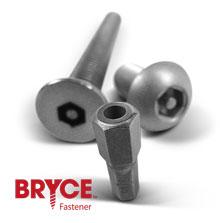 Tamper Resistant Hex Screws | Hex Bolts | Bryce Fastener