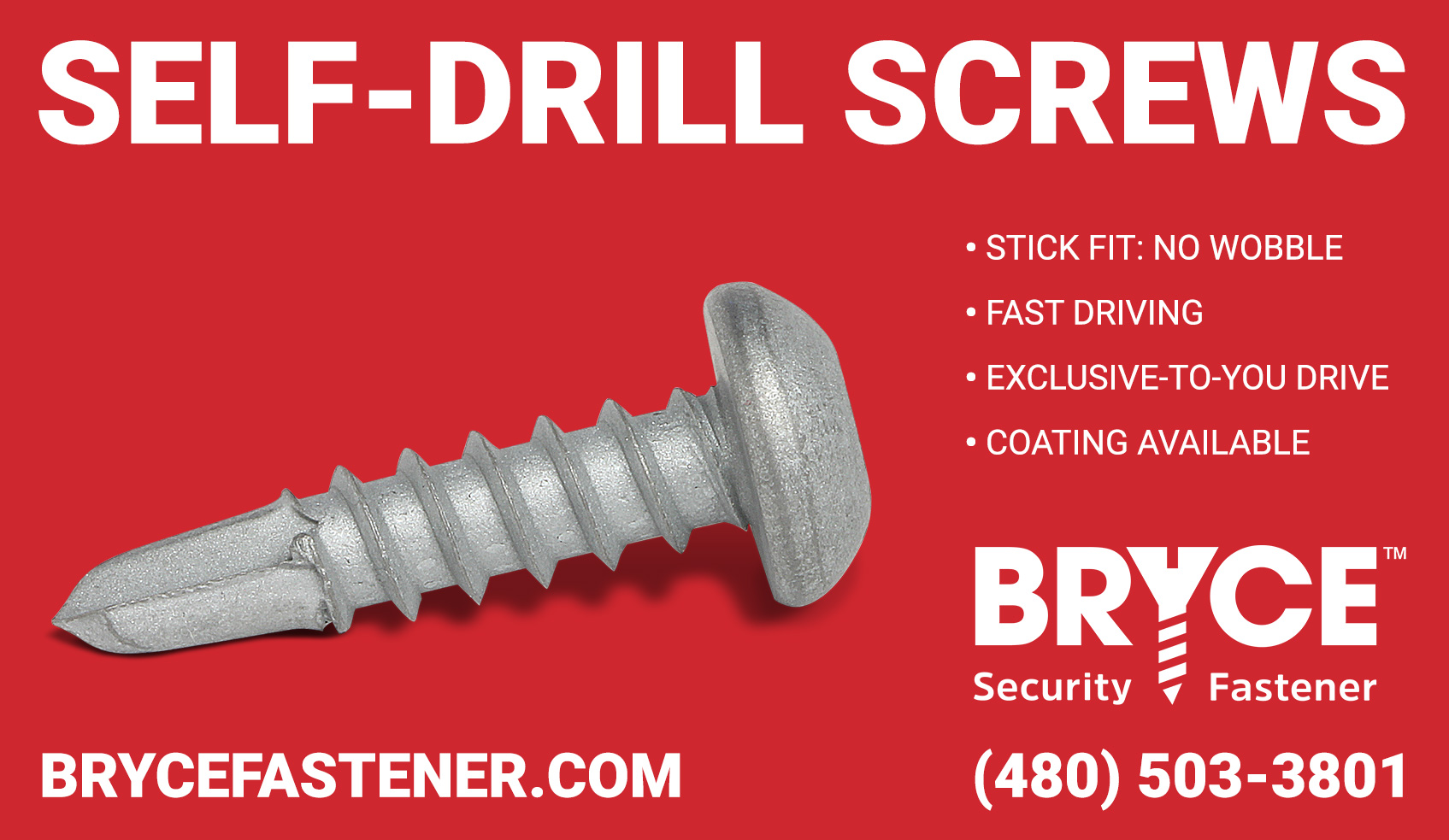 Self-Drill Security Fasteners